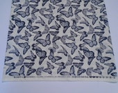 Bee Inspired Cotton Quilting Fabric, Deb Strain for Moda Fabrics, Quilting and Sewing Fabric, Bee Inspired Dove Grey Fabric, Butterfly