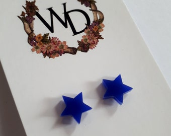 Twinkle Twinkle Stud Earrings in 'Midnight' by Winnifreds Daughter