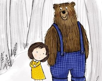 PRINT Bear Hugs