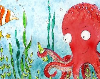 PRINT Octopus Home