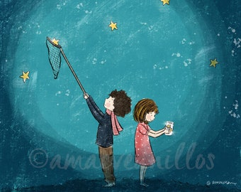 PRINT Starry Night