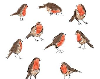 PRINT English Robins