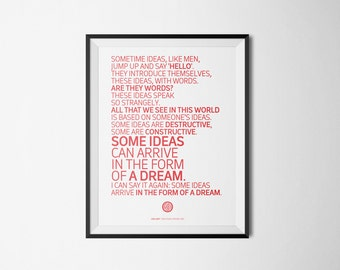 Twin Peaks Poster #4 Serial Quotes Posters (Digital Download of A4/A3/A5 Printable PDF)