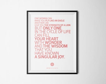 Twin Peaks Poster #6 Serial Quotes Posters (Digital Download of A4/A3/A5 Printable PDF)