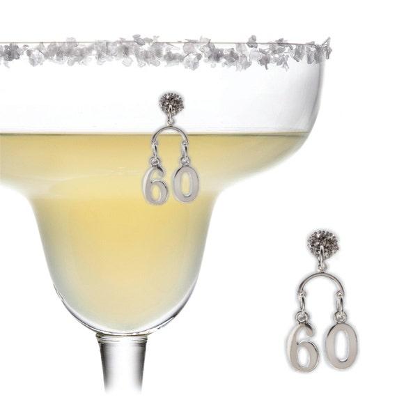 60th Birthday Magnetic Wine Charm