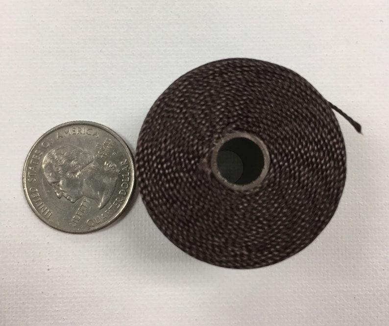 Winette chocolate S-lon Bead cord TEX210 nylon | Etsy