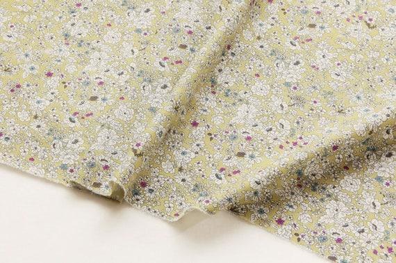 Large Pouces Petites Fleurs De Coton Par L Yard 55 Pouces Large De