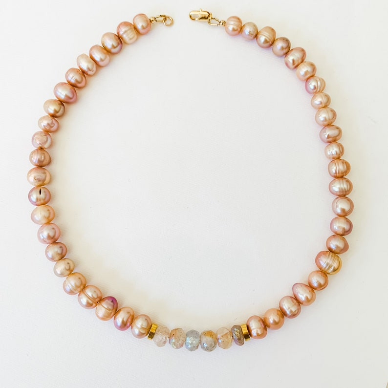 Pearl /& Opal Necklace