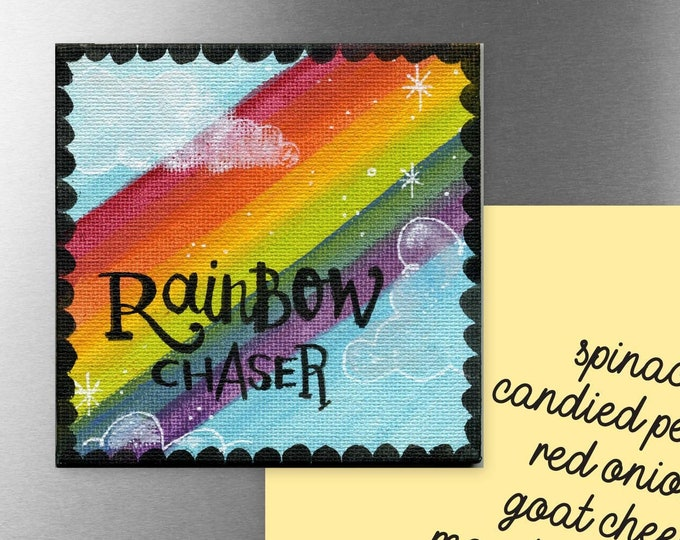 Rainbow Chaser | Magnet