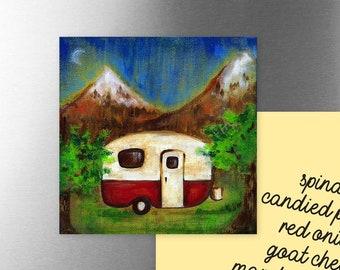 Vintage Camper | Magnet