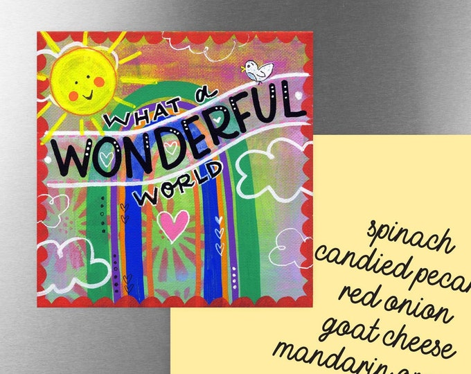 What a Wonderful World | Magnet