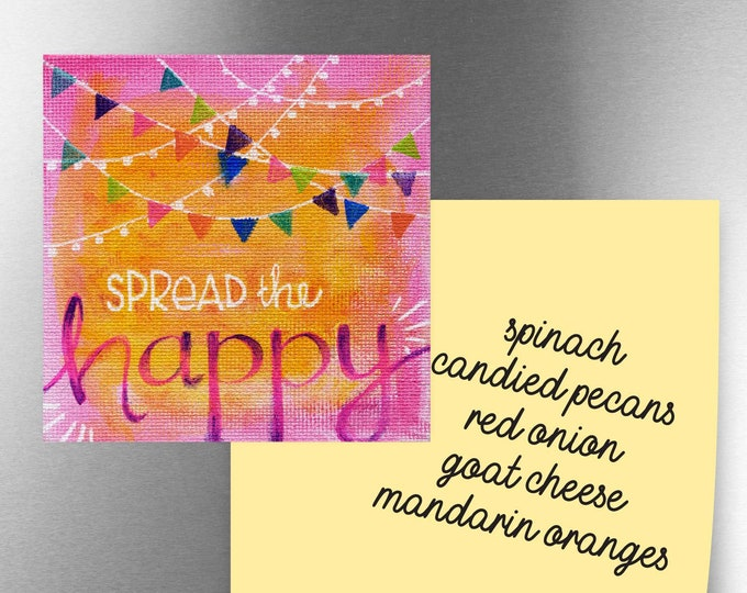 Spread the Happy | Magnet