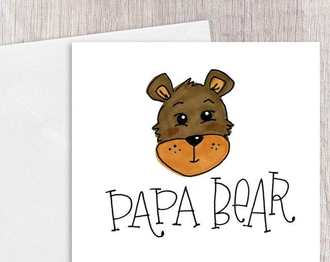 Papa Bear | Greeting Card