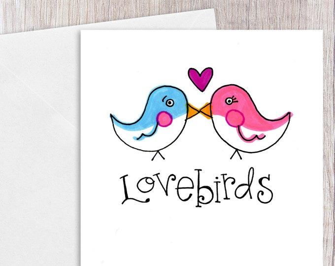 Lovebirds | Greeting Card
