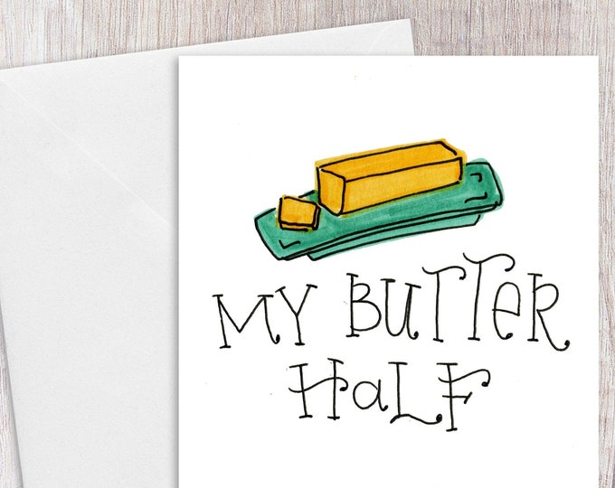 Butter Half | Greeting Card