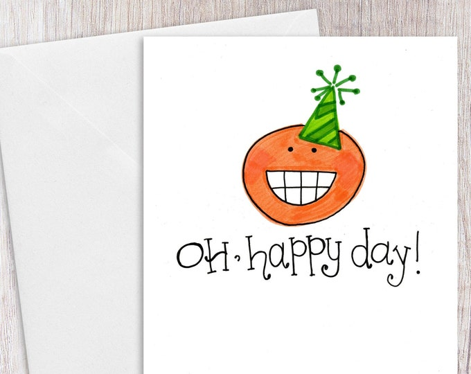 Oh, Happy Day | Greeting Card