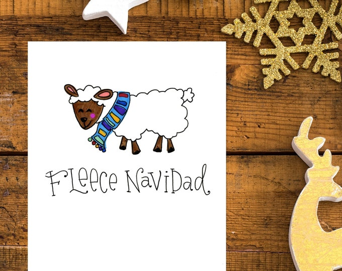Fleece Navidad | Greeting Card