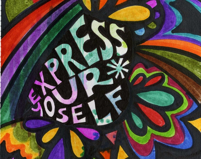 Express Yourself | Print
