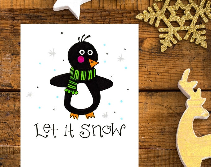 Let it Snow | Greeting Card
