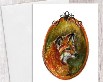 Red Fox | Greeting Card