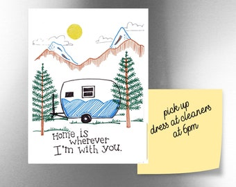 Home is Wherever I'm with You | JUMBO magnet
