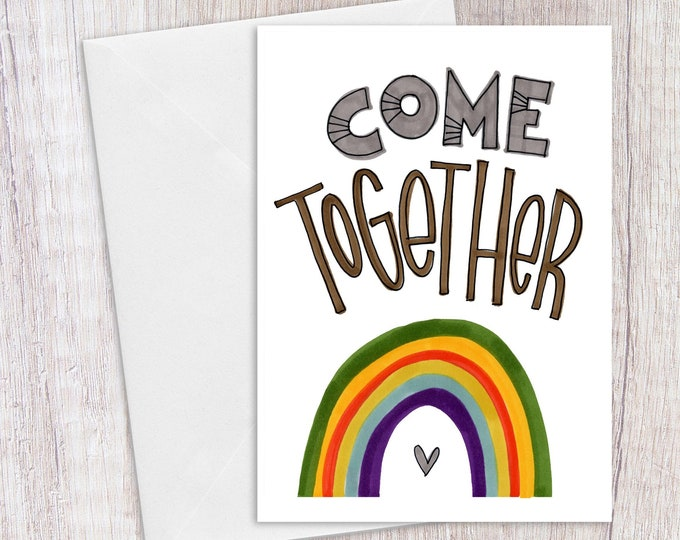 Come Together | Greeting Card