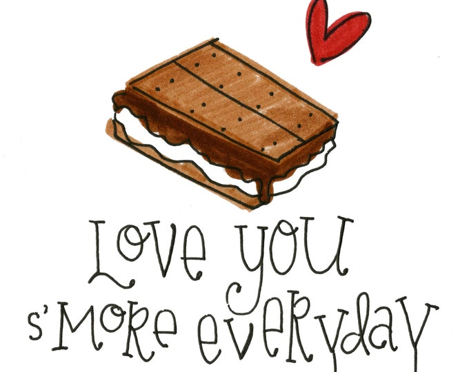 Valentine Card Pack - Love you S'more Everyday | 4 Pack
