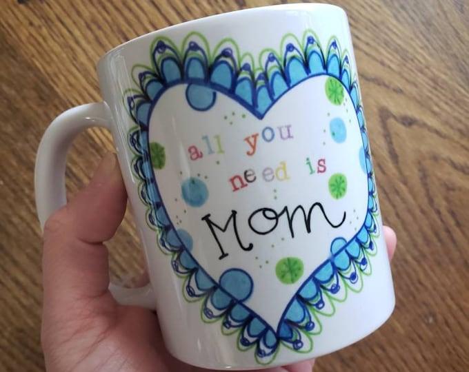 All You Need is Mom | Coffee Mug