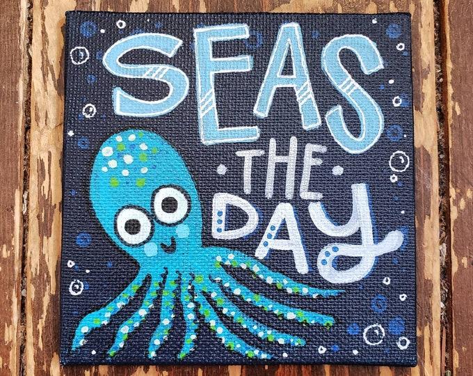 Seas the Day | Original Mini Painting