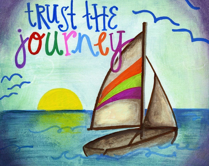 Trust the Journey | Magnet