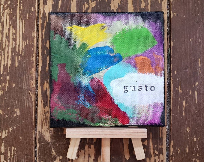 Gusto | Original Mini Painting