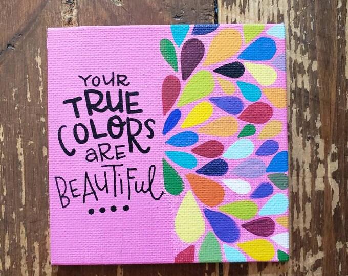 True Colors | Original Mini Painting