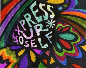 Express Yourself | Greeting Card