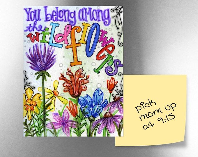 Wildflowers | JUMBO magnet