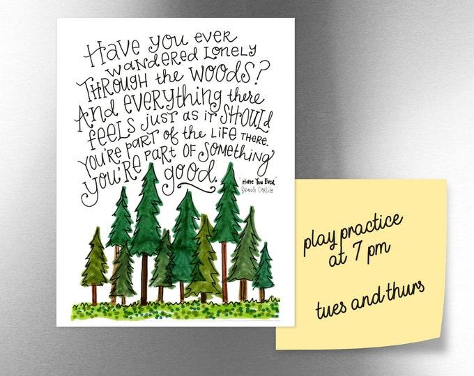 The Woods | JUMBO Magnet