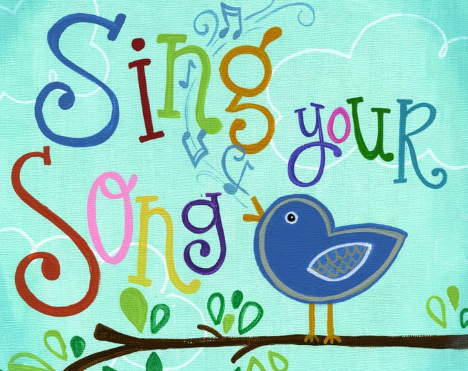 Sing your Song | JUMBO magnet