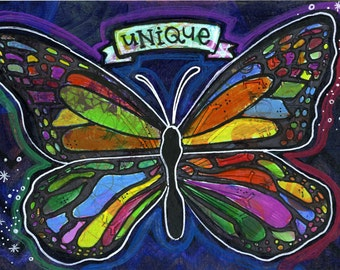 Unique Butterfly | JUMBO magnet