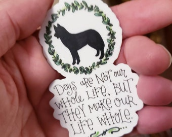 Dogs are Life | Vinyl Sticker