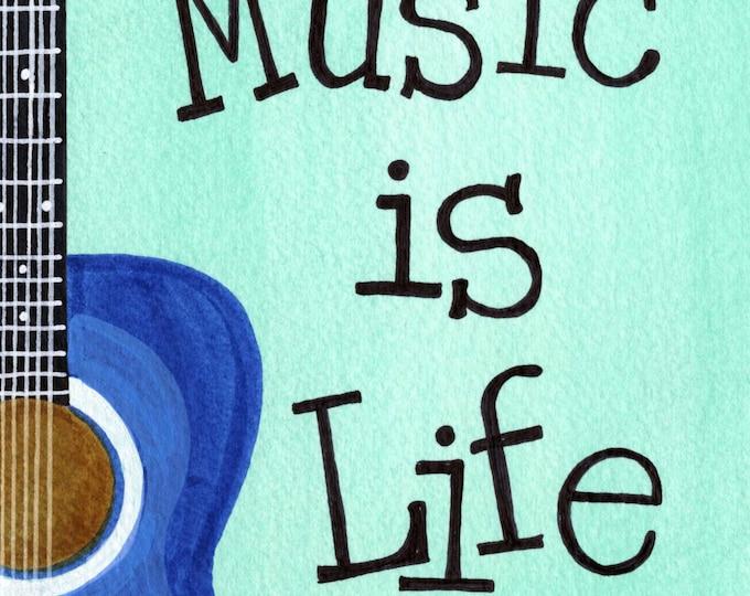 Music is Life | JUMBO magnet