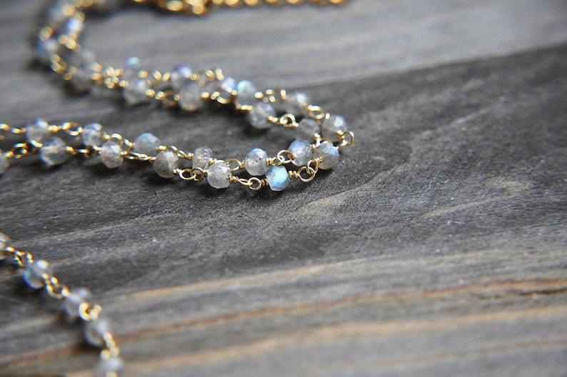 Stone Necklace Labradorite Jewelry Flash Labradorite Labradorite Necklace Labradorite Choker Raw Stone Necklace Natural Stone Boho