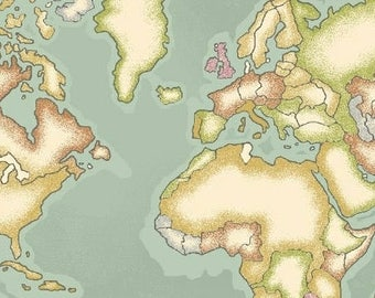 World map sheets etsy gumiabroncs Gallery