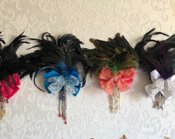 Bows, Feathered Bows