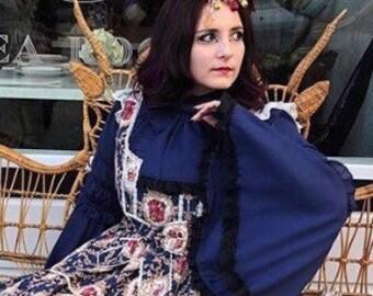 Venetians, Tea Party Fascinator, Goth headdress, Lolita Fascinator