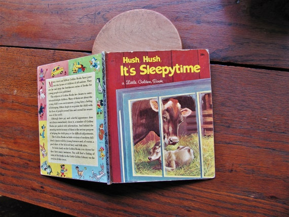 Vintage Hush Hush It S Sleepytime Book First A Edition Etsy