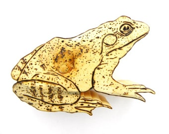 Frog Wall Décor, Frog Sculpture, Wood Frog, biology, Toad Wall Décor, Toad Sculpture, Wood Toad, Wooden Toad, Pyrography, Wood Burning
