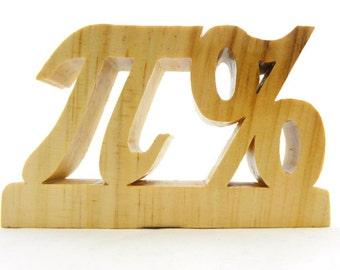 Pi, Percentage
