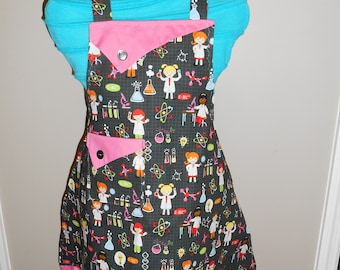 Girls in Science/Chemistry Girl's Apron
