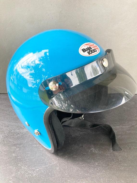 Vintage Motorcycle Helmet - Awesome Vintage Old Sc