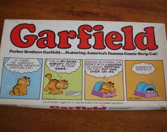 1970's Parker Brother's Garfield Game