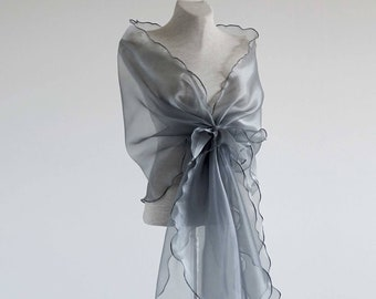 c1c085e5417dc Mother of the bride shawl. Shoulder cover up. Bridesmaid cover up. Organza  shawl. Evening shawl. Woman wraps.